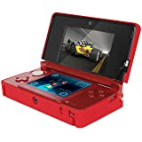dreamGEAR Nintendo 3DS Power Case - Red (Color: Red)