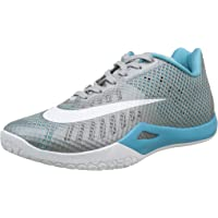 Nike Mens HyperLive Basketball Shoes (Wolf Grey/Omega Blue)