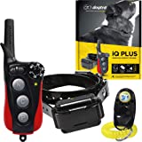 Dogtra IQ Plus+ Remote Training Collar - 400 Yard Range, Waterproof, Rechargeable, Shock, Vibration - Includes PetsTEK Dog Training Clicker (Color: Black, Tamaño: 1 Dog System - IQ-PLUS)