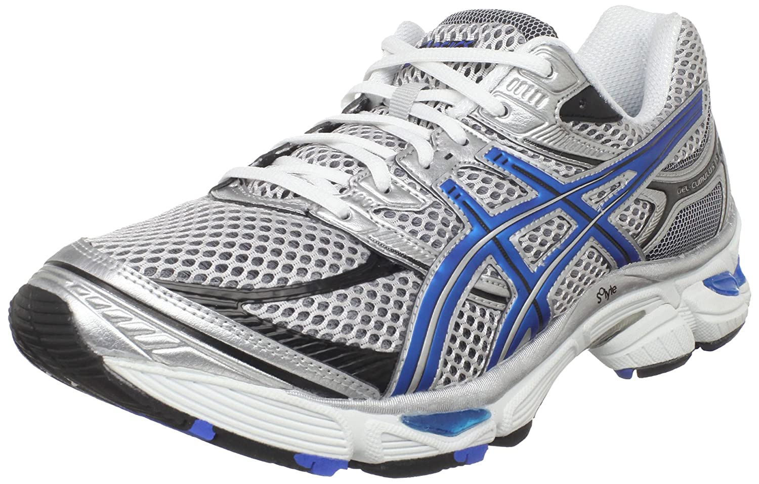 ASICS Men's GEL-Cumulus 13 Running Shoe,White/Royal/Black,9 M US $67.98