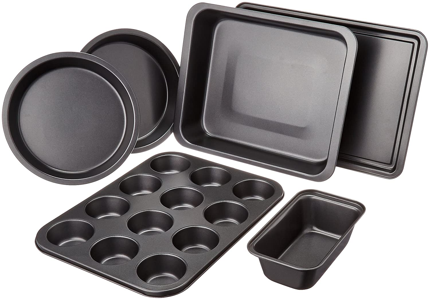 AmazonBasics 6-Piece Bakeware Set