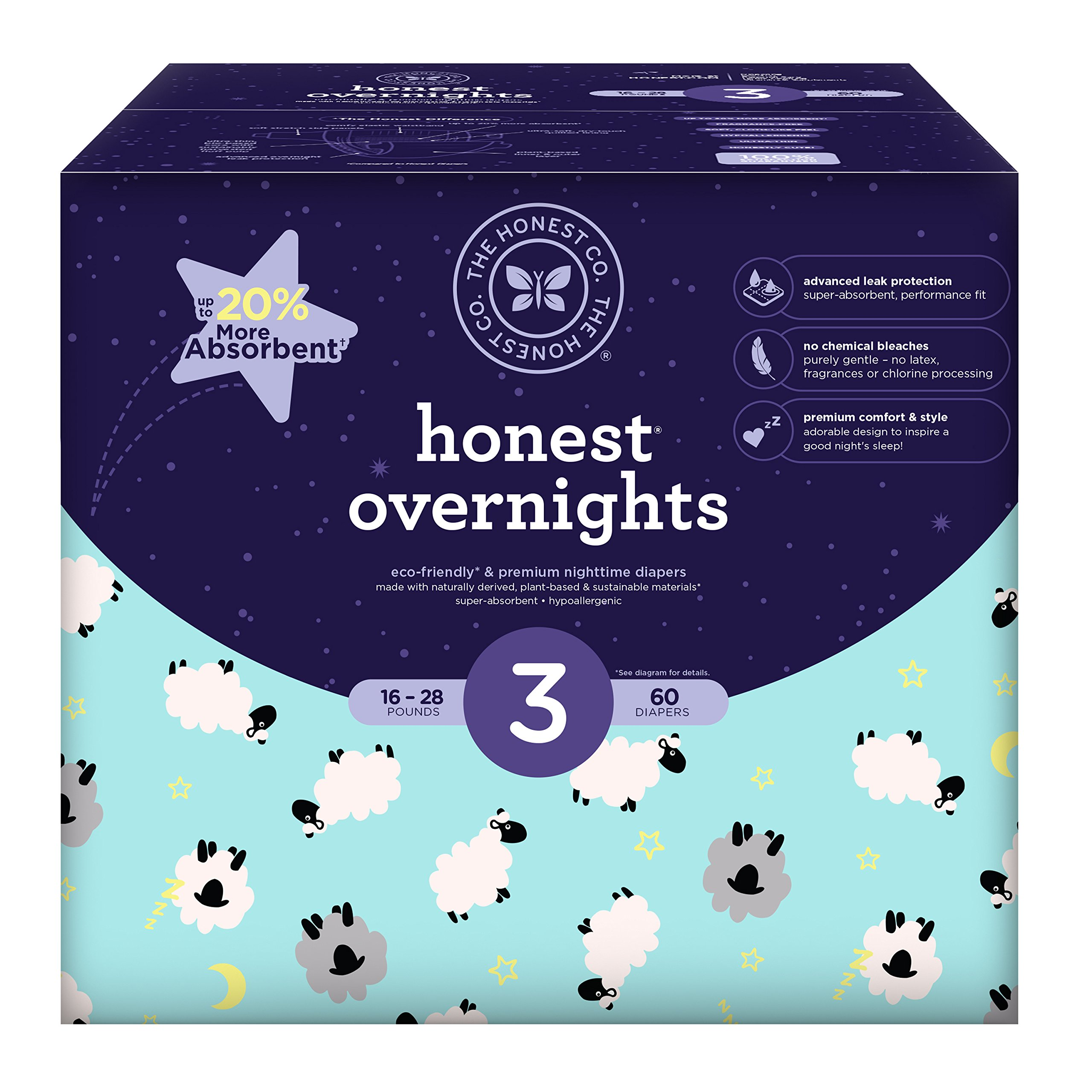 Overnight Honest Baby Diapers