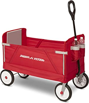 Radio Flyer 3-in-1 Wagon Ride On