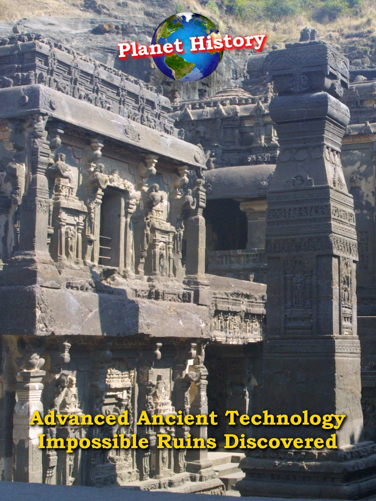 Advanced Ancient Technology - Impossible Ruins Discovered on Amazon Prime Instant Video UK