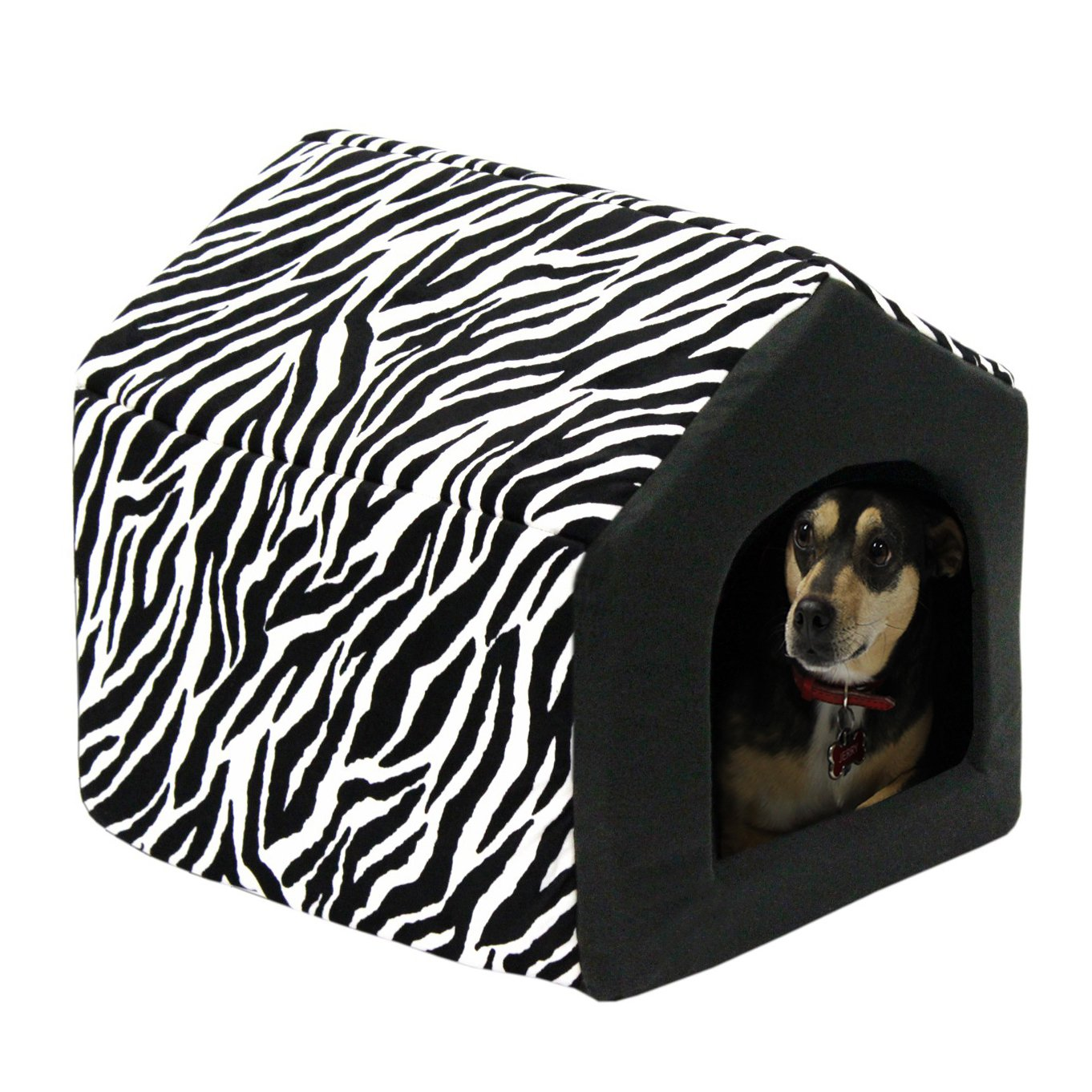 new pet puppy dog house indoor sofa bed couch cute soft plush fabric dogs cats ebay. Black Bedroom Furniture Sets. Home Design Ideas
