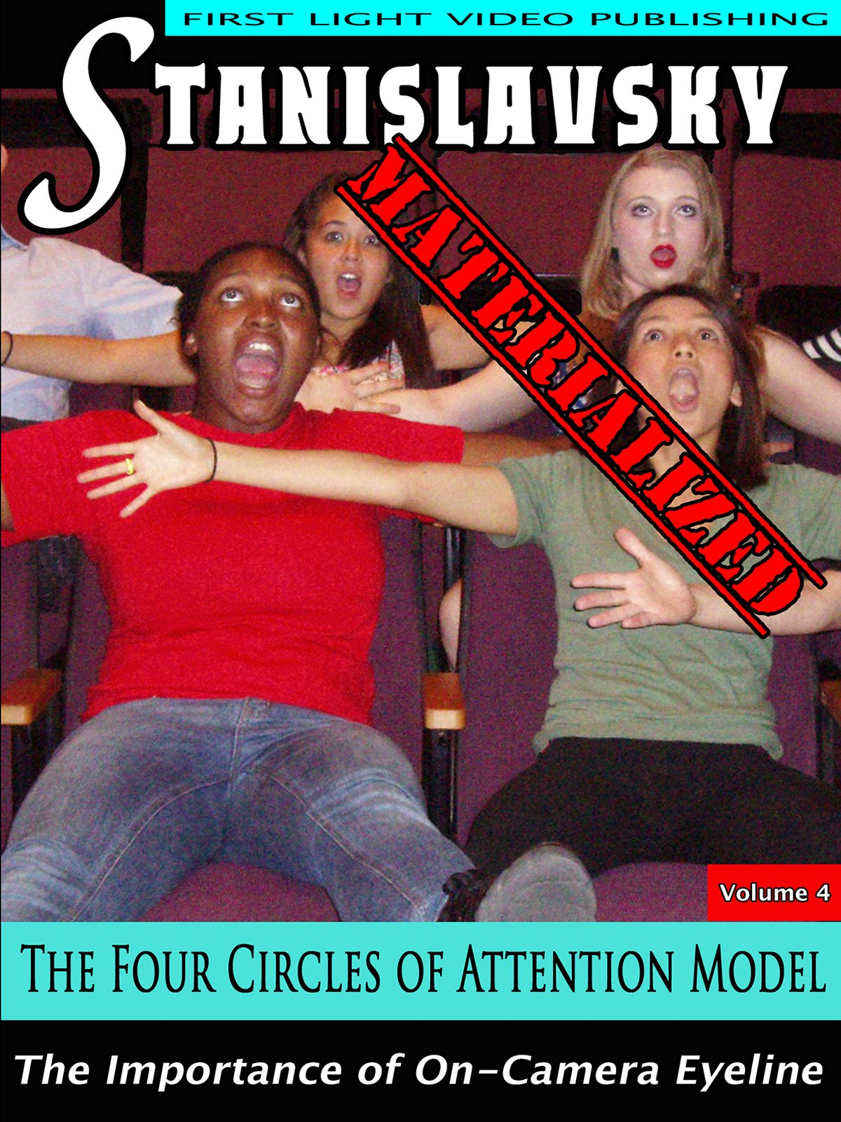 The Four Circles of Attention Model on Amazon Prime Instant Video UK