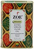 Zoe Organic Extra Virgin Olive Oil, 25.5- Ounce tins/750ml (Pack of 2)