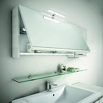 Idea Mistral Spiegelschrank Bianco (Weiß); 120