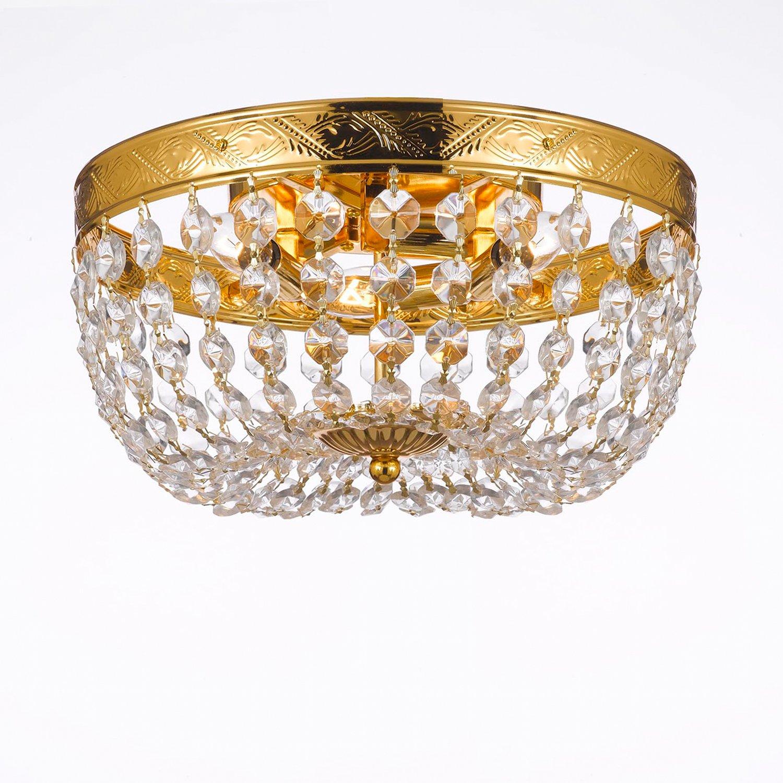 Empire Chandelier With Swarovski Crystal