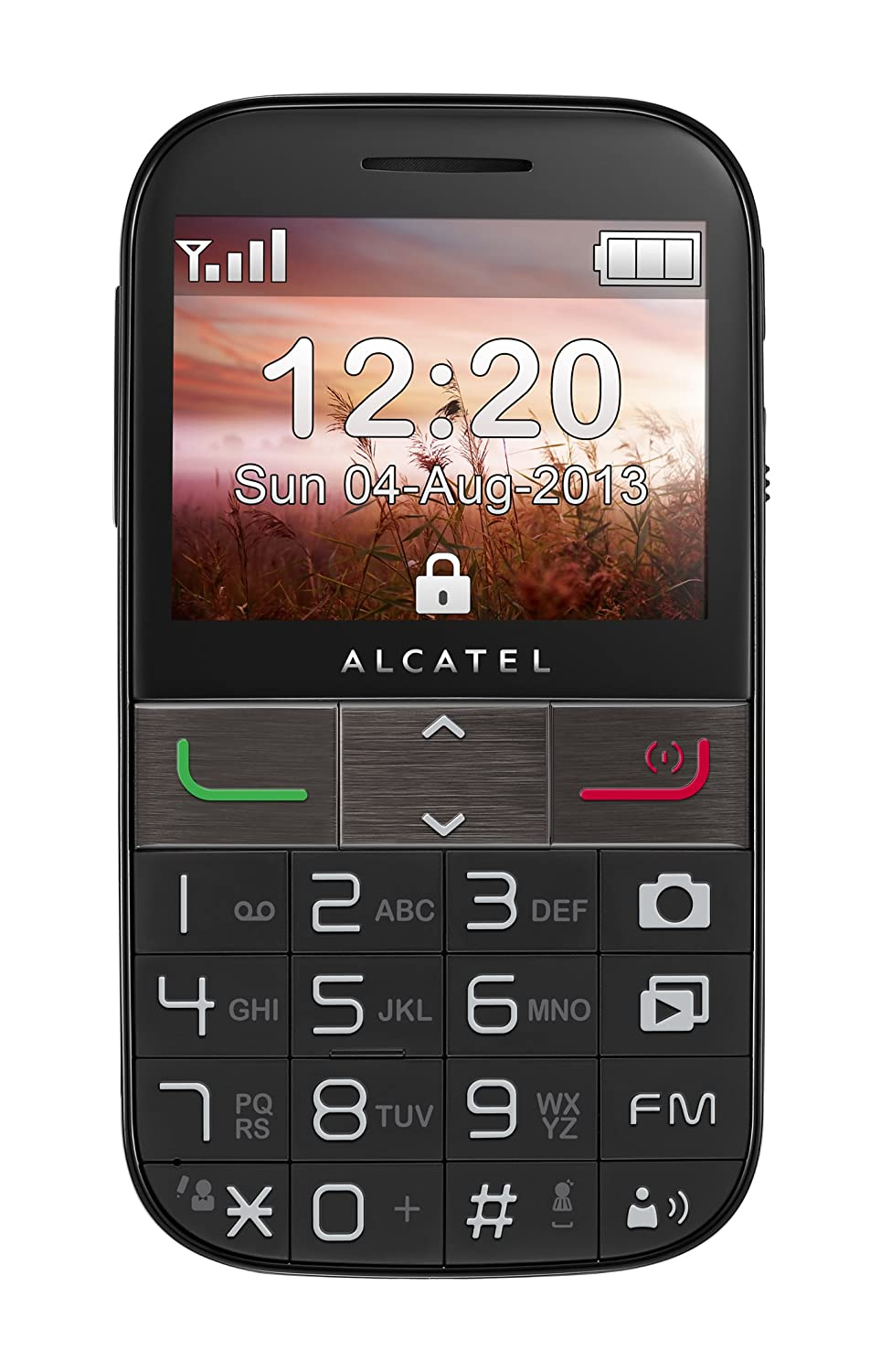 T�l�phone GSM ALCATEL ONE TOUCH 2001D NOIR