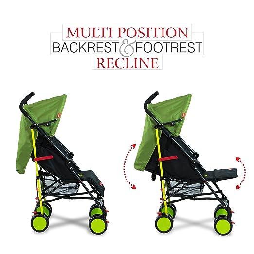 Lil' Traveler Stroller cum Pram - Green