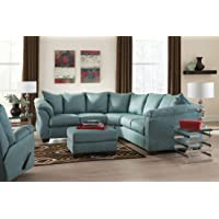 Ashley Furniture Darcy 2-Piece Sectional Loveseat Sofa Set