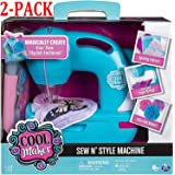 Cool Maker - Sew N' Style Sewing Machine with Pom-Pom Maker Attachment (Edition May Vary) (Sewing Machine (2-Pack))