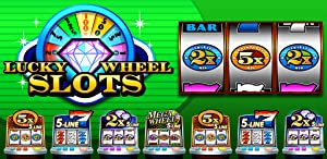 Lucky Wheel Slots Free Slots Games - Las Vegas Slot Machines with Progressive Jackpots and Real Free Casino Slots for Kindle - These Free Casino Games are Cash Classic Slots with Freespin and Old Vegas Slots with Bonus Rounds from Rocket Games, Inc.