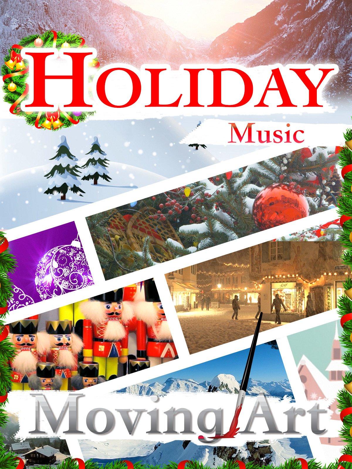 Holiday Music Moving Art