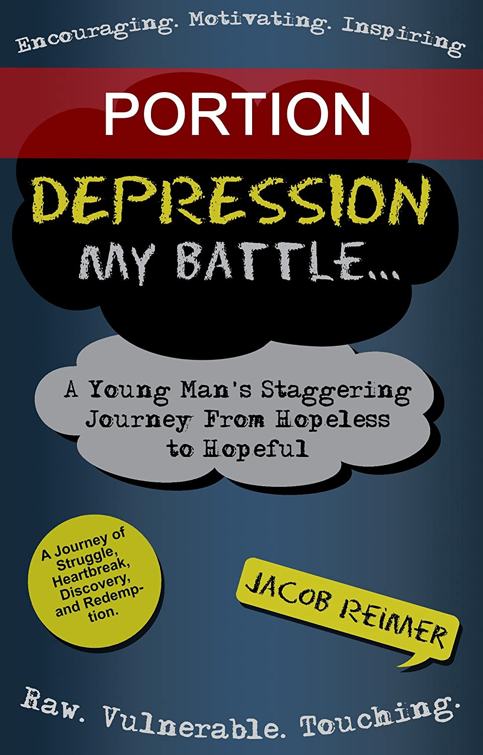 Depression-cover-portion