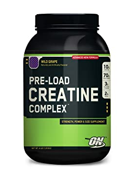 Optimum Nutrition Pre-Load Creatine Complex, Fruit Punch, 4 Pound