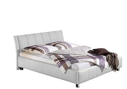 Maintal Betten 234049-4691 Polsterbett Sina 100 x 200 cm, weiß