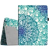 Fintie iPad 2/3/4 Case - Slim Fit Folio Stand Case Smart Protective Cover Auto Sleep/Wake Feature for Apple iPad 2, iPad 3 & iPad 4th Generation with Retina Display - Emerald Illusions (Color: Z-Emerald Illusions)