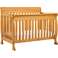 DaVinci Kalani 4-in-1 Convertible Crib with Toddler Rail (Honey Oak)
