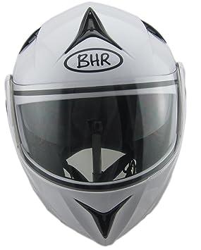 BHR 50137 Casque Modulaire, Blanc, XS/ 53-54 cm