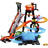Hot Wheels Ultimate Gator Car Wash Playset (Color: Multicolor, Tamaño: n.a.)
