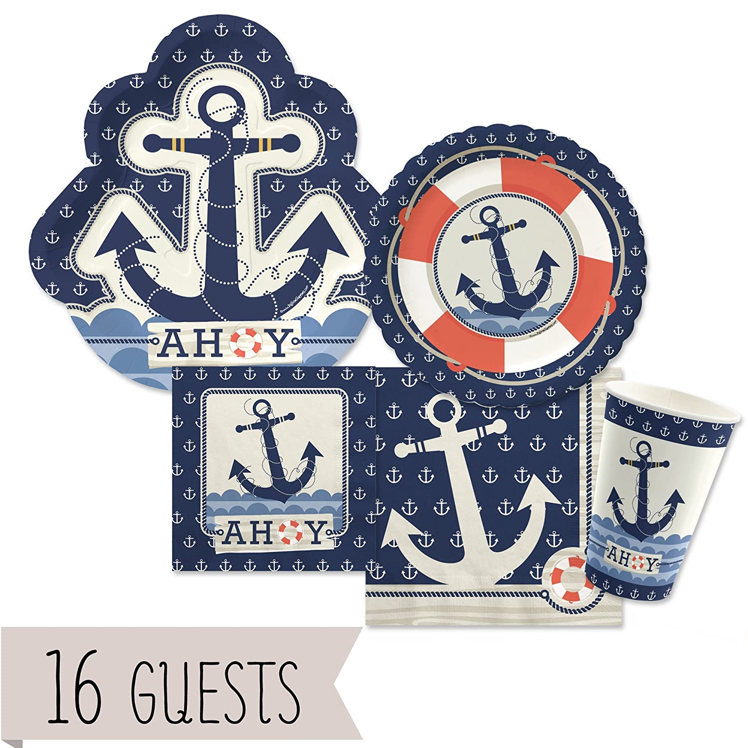 Ocean Boy Baby Shower Party Kits