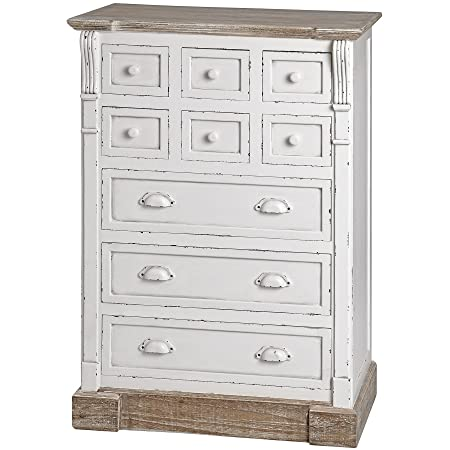 New England Storage Chest with 9 Drawers