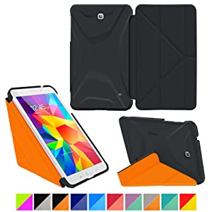 rooCASE Samsung Galaxy Tab 4 8.0 8,0 8,0 caso carcasas cubierta funda folio  Electrónica más información y revisión