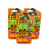 Gorilla 2605201-3 Glue Sticks, 3-Pack, Disappearing Purple, 6 Piece (Color: Disappearing Purple, Tamaño: 3 - Pack)