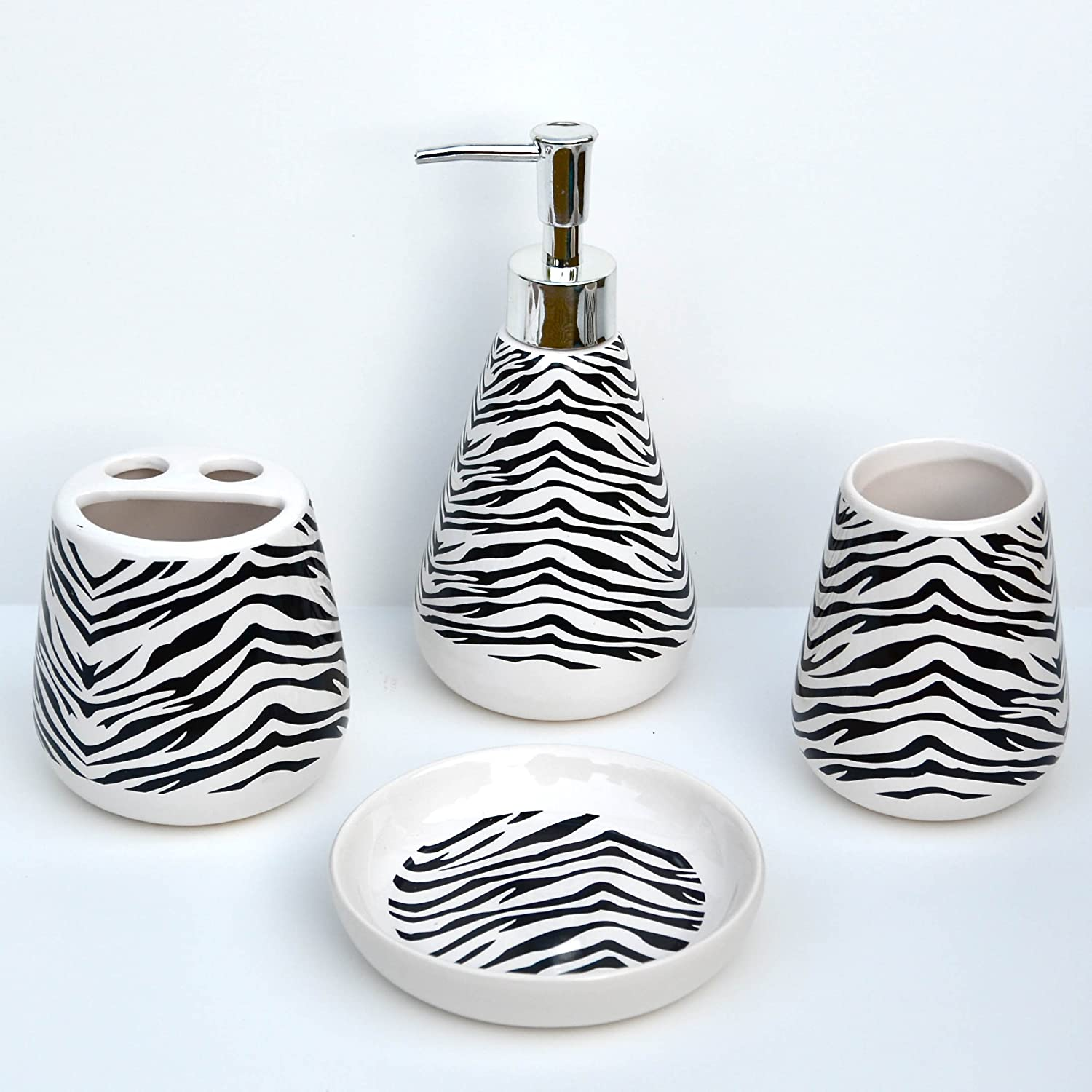 Black Bathroom Accessories Set Black Bathroom Accessories Good Home Finds