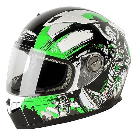 NITRO 187149M19 Casque Moto N2100 Samurai Vert