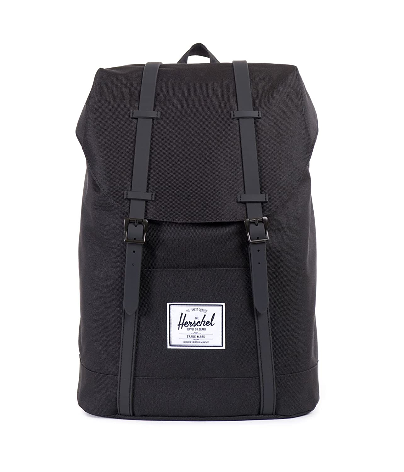 Amazon.co.jp: [ハーシェルサプライ] Herschel Supply 公式 Retreat 10066-00535-OS Black/Black PU (Black/Black PU): シューズ&バッグ:通販