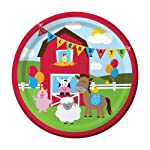 "Charmed Celebrations Farmhouse Fun 9"" Lunch Plates"