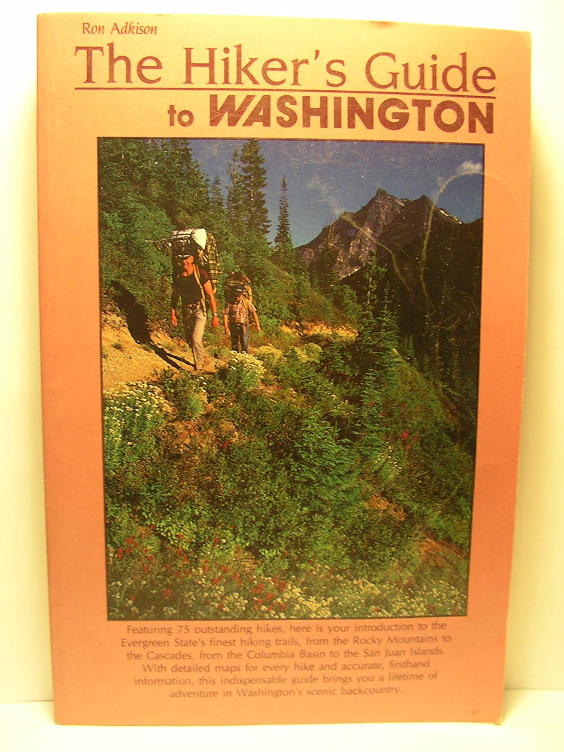 The hiker's guide to Washington, Adkison, Ron