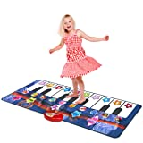 Kidzlane Durable Piano Mat, 10 Selectable Sounds, Play and Record, For Kids 3+, Dance and Learn