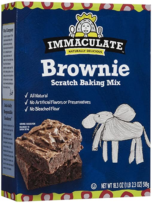 Immaculate Baking Immaculate Brownie Baking Mix - 18.3 OZ