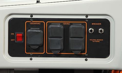 Generac 6000 LP3250 Portable Generator Review - Power Up Generator