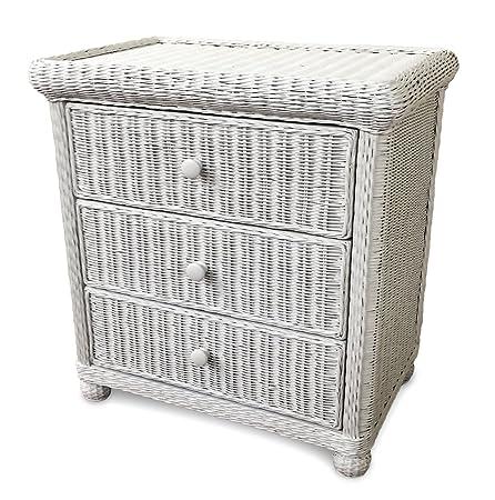Wicker 3 Drawer Dresser - Elana