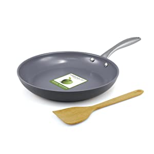 greenpan lima 10 Inch hard anodized non-stick ceramic fry pan