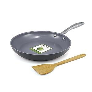 greenpan lima 10 Inch hard anodized non-stick ceramic fry pan