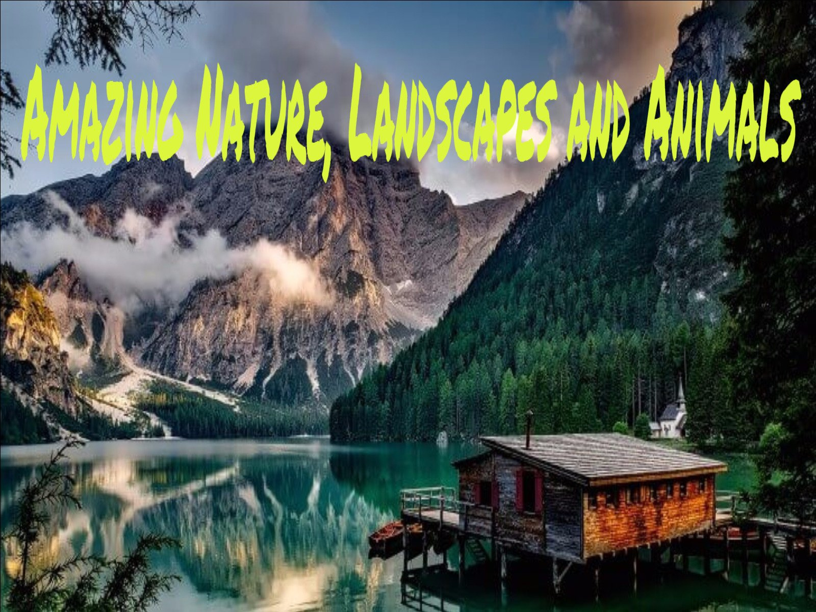 Amazing nature, landscapes and animals . - Season 1