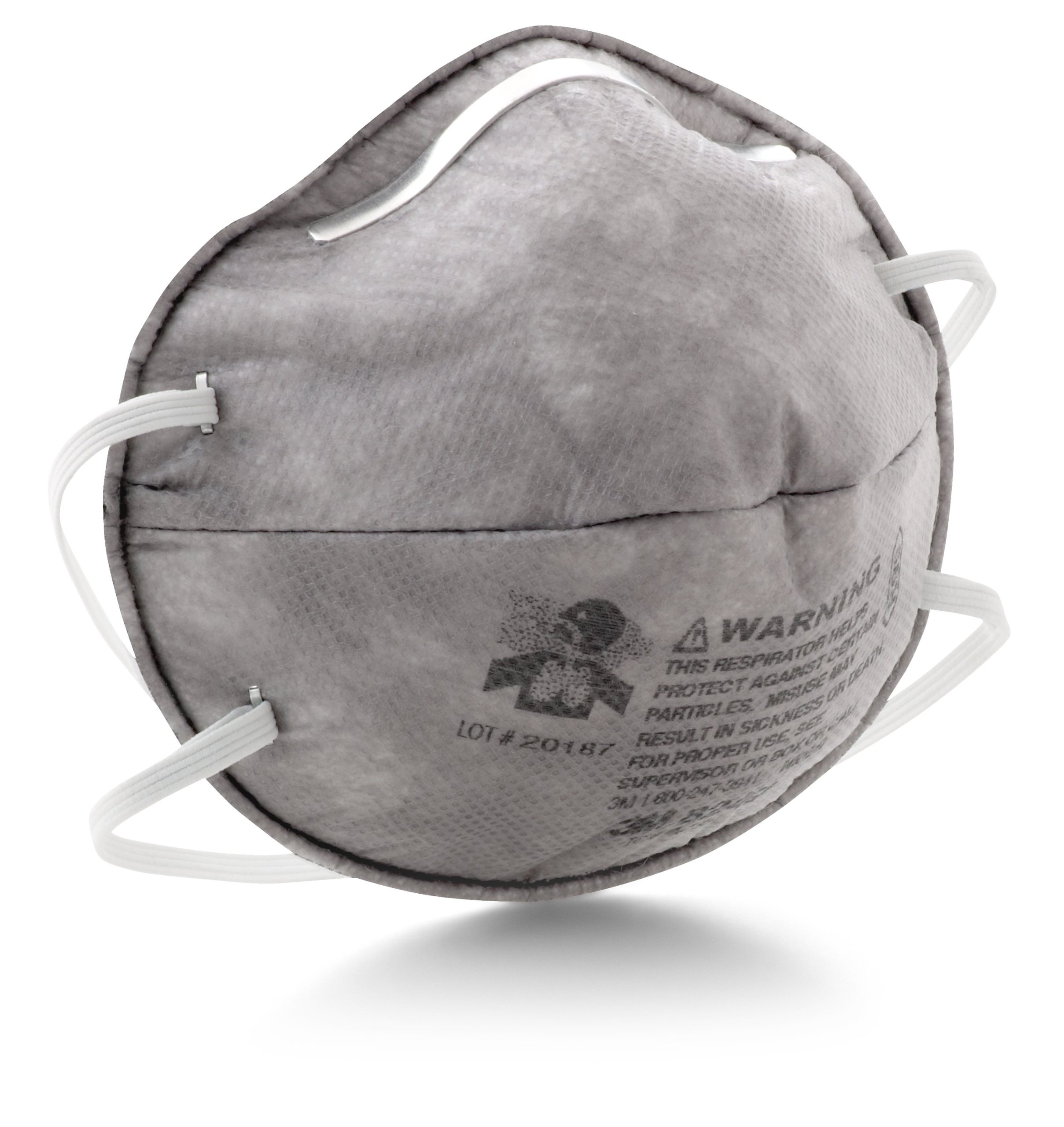 3M 8247 R95 산업용 2급 방진 마스크 20개 세트 구성 3M Particulate Respirator 8247, R95, with Nuisance Level Organic Vapor Relief, 20/Box