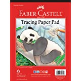Faber-Castell Tracing Paper Pad - 40 Sheets (9 x 12 inches) (Color: clear, Tamaño: 9