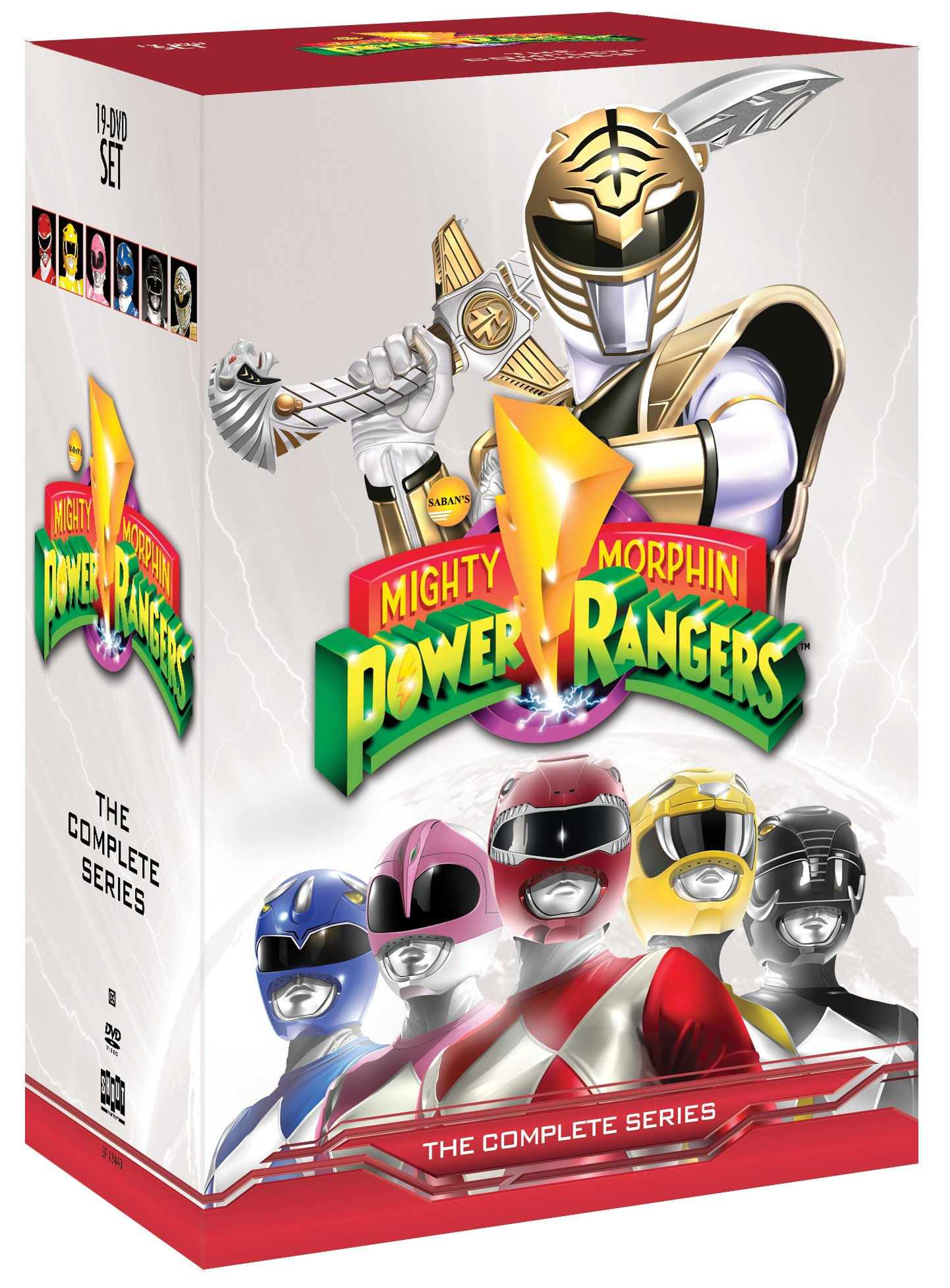 mighty morphin power rangers complete tv series seasons 1. Black Bedroom Furniture Sets. Home Design Ideas