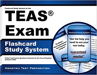 Flashcard Study System for the TEAS Exam: TEAS Test Practice Questions & Review for the Test of Essential Academic Skills (Cards)