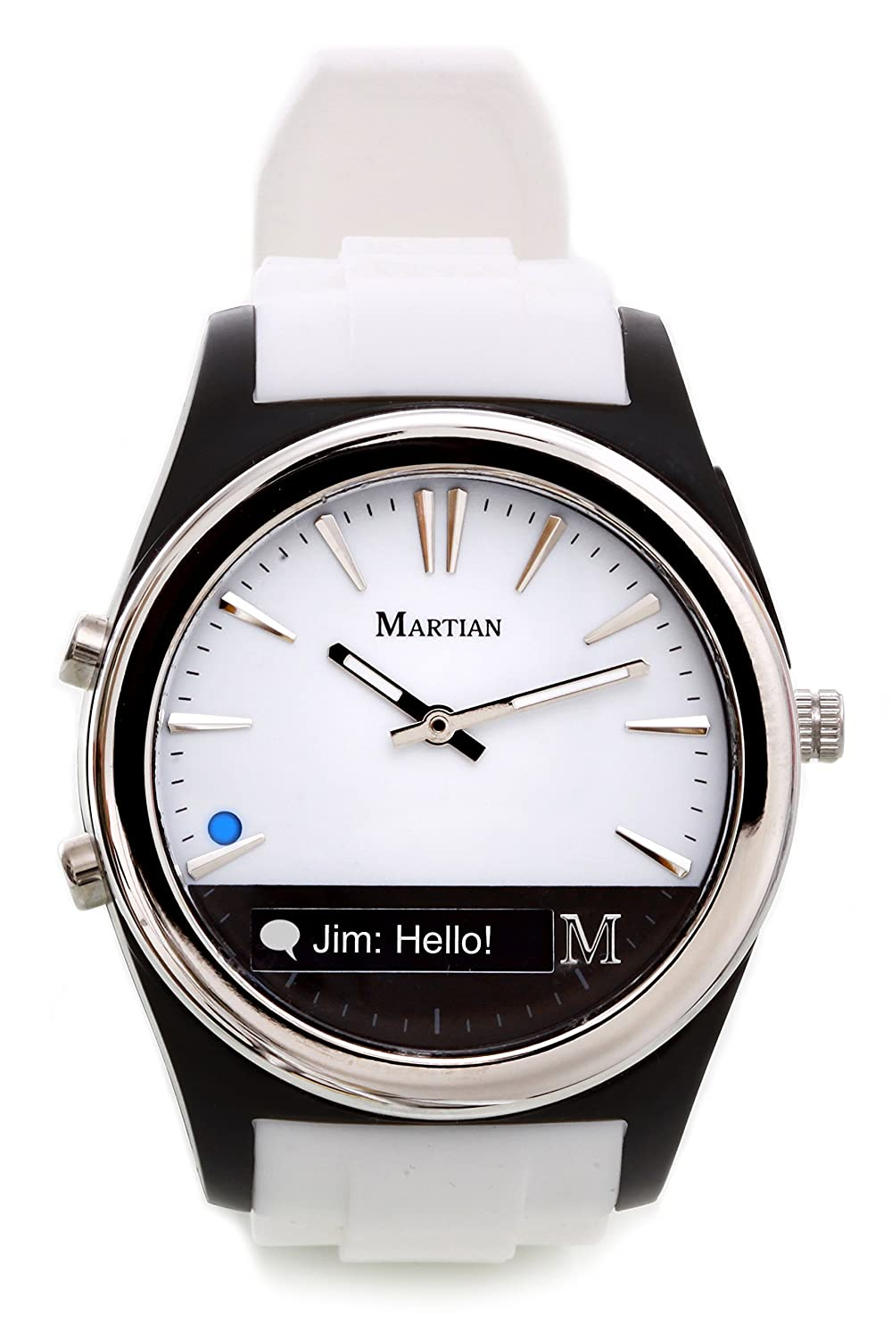 Upto 20% off Or More Off on Unique & Innovative products By Amazon   Martian Analog White Dial Unisex Watch - MN200WBW @ Rs.4,999