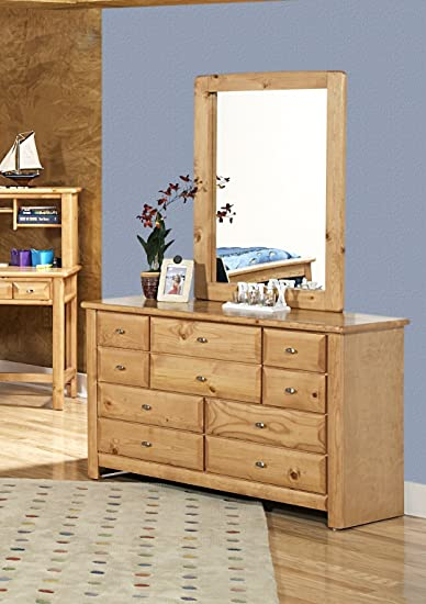 9 Drawer Dresser with Mirror by Chelsea Furniture