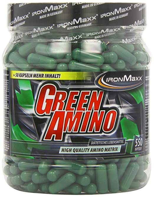 Ironmaxx Green Amino- 550 Kapseln