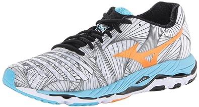Mizuno Women's Wave Paradox 2A Running Shoe,White,6 2A US